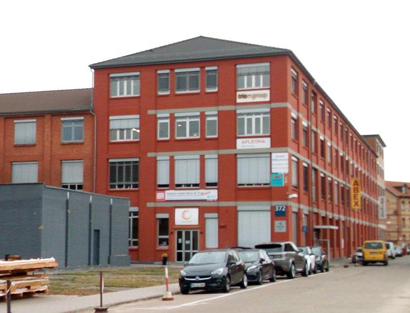 Gebäude 372 auf dem Sirius Campus