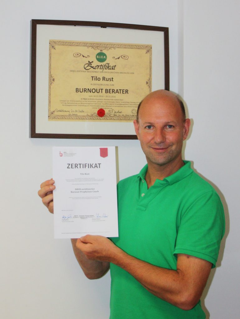 2-fach Zertifizierung BIEK und DBVB - Tilo Rust