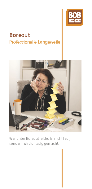 "Flyer ""Boreout"" zum Download"